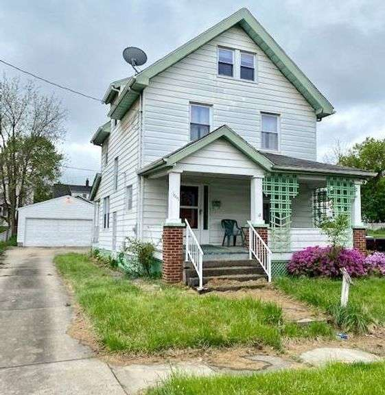 Investment Real Estate Auction: 1615 Midland Ave., Youngstown, OH 44509