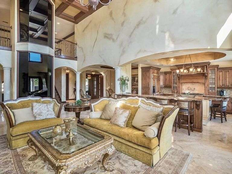 Furnishing & Decor from $3 Million Florida Home. Spectacular! All moved to Jefferson, OH church.