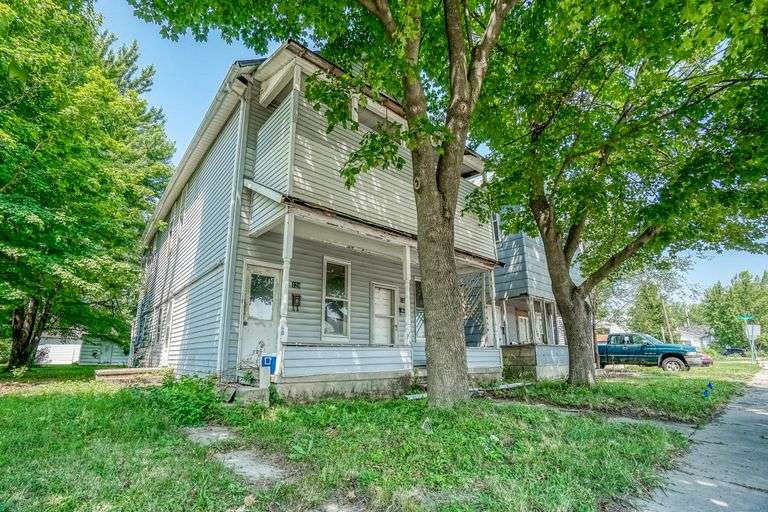 Timed ONLINE Real Estate Auction - 129 N 8th St., Decatur, IN 46733