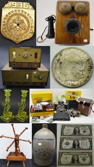 Online Antiques & Collectibles Auction 2/25/21