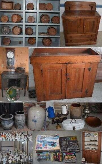 Antiques, Primitives & Collectibles Butler PA Estate Auction 4/29