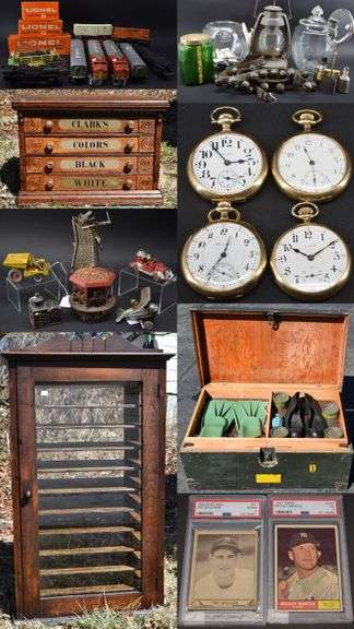 Antiques & Collectibles Online Auction May 7 – 13 2021