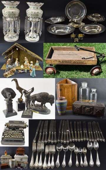 Online Antiques & Collectibles Auction May 14-20