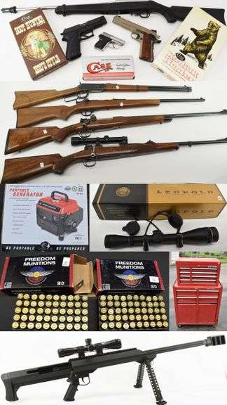 Guns, Knives and Tools Online Auction
