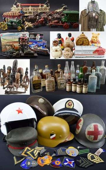 Online Bidding Only Collectibles Auction