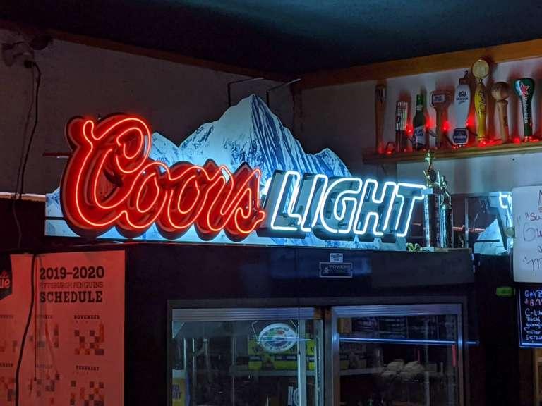 Bar Advertising, Candlelite Lounge