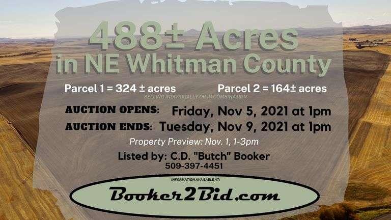 488± Acres in NE Whitman County