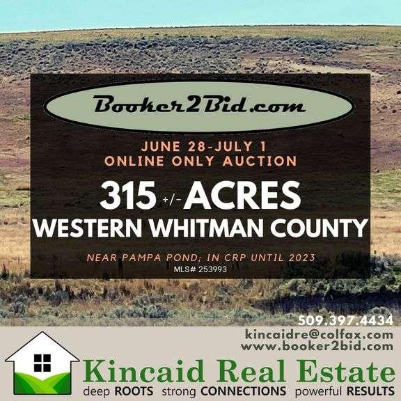 315+/- acres near Pampa Pond, Whitman County