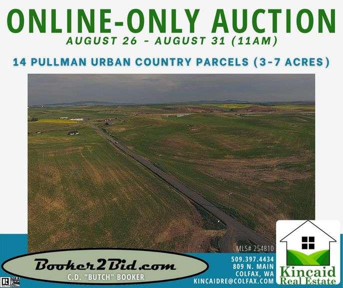 Pullman Urban Country Parcels - Multi-Acre, Multi-Par