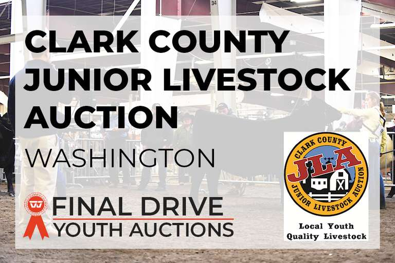 Clark County Junior Livestock Auction - Washington