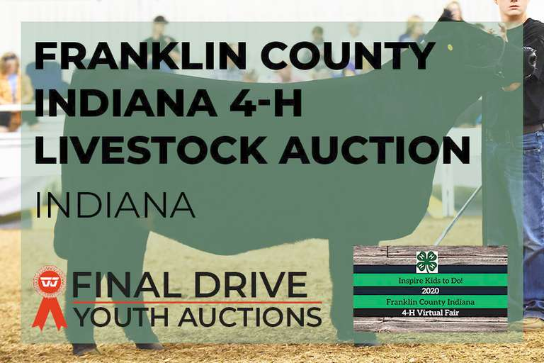 Franklin County Indiana 4-H Livestock Auction - Indiana