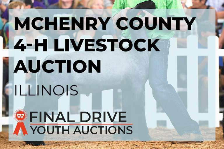 McHenry County 4-H Livestock Auction - Illinois