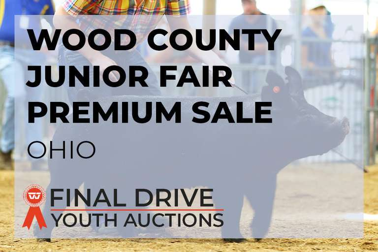 Wood County Junior Fair Premium Sale - Ohio