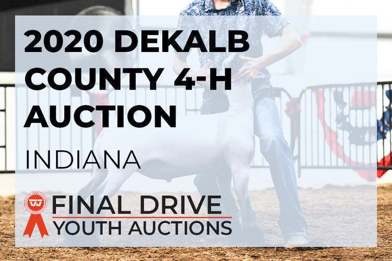 2020 DeKalb County 4-H Auction - Indiana