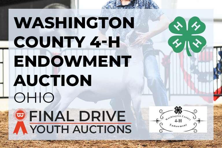 Washington County 4-H Endowment Auction - Ohio