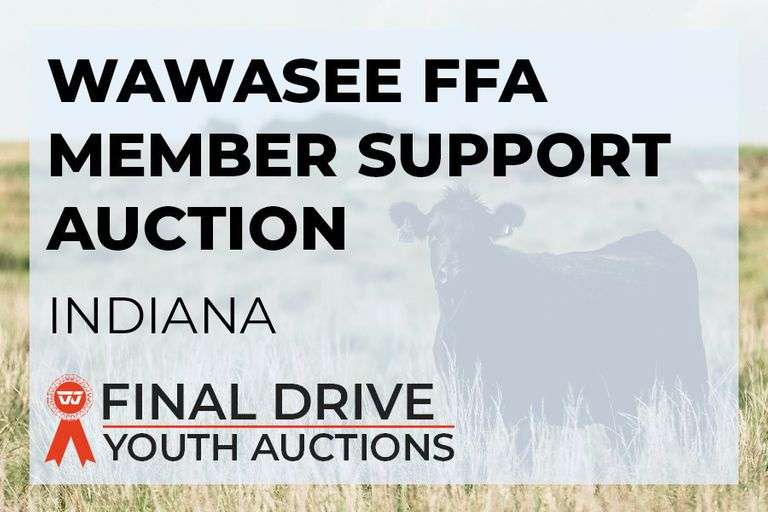 Wawasee FFA Member Support Auction - Indiana