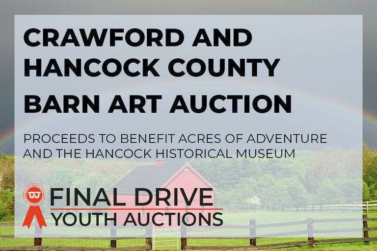 Crawford and Hancock County Barn Art Auction