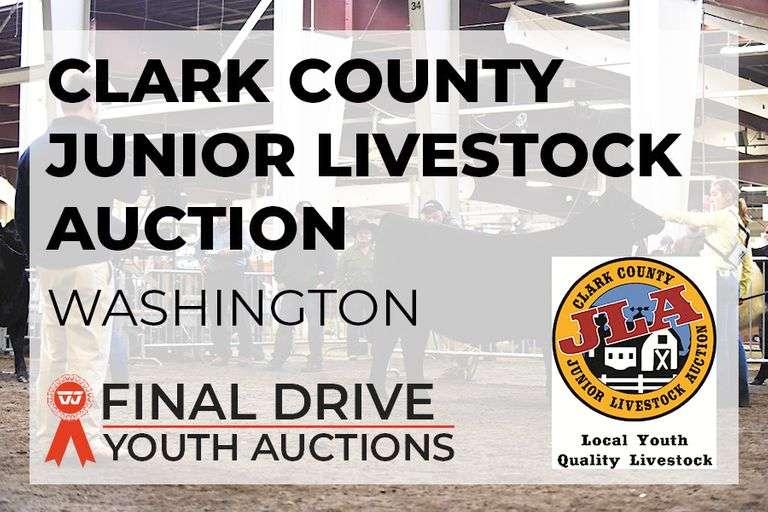 Clark County Junior Livestock Auction - Washington