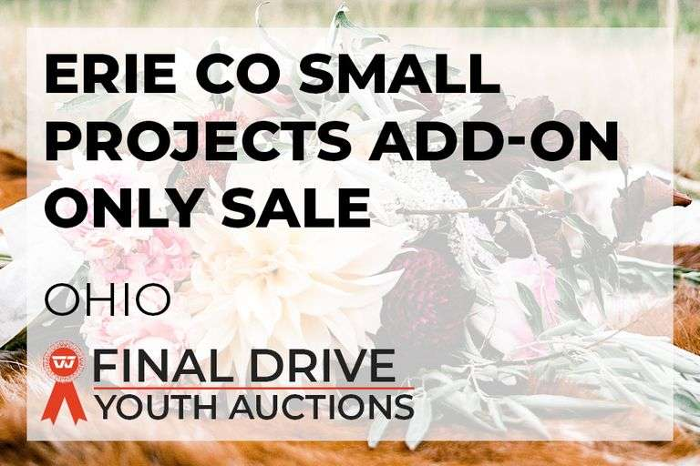 Erie Co Small Projects Add-On ONLY Sale - Ohio