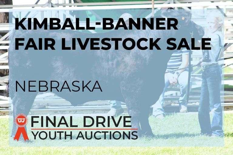 Kimball Banner Fair Add-On Only Livestock Sale - Nebraska