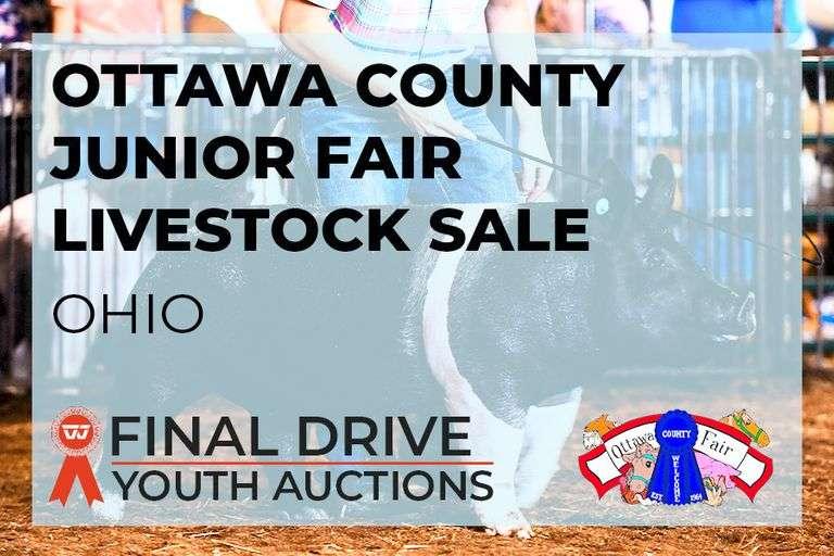 Ottawa County Junior Fair Add-On Only Livestock Sale - Ohio