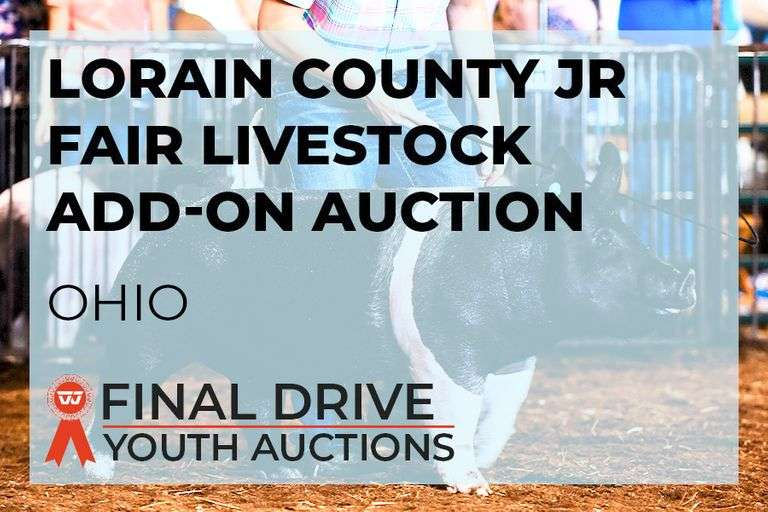 Lorain County Jr Fair Livestock Add-On Auction - Ohio