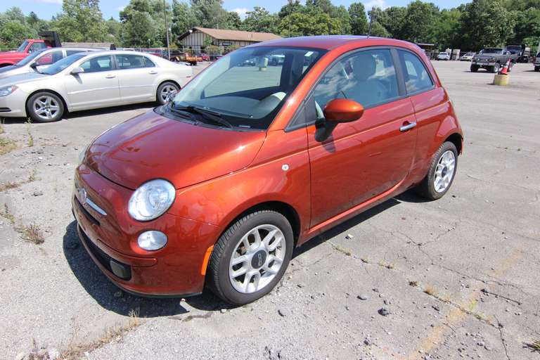 BIDDING CLOSED! Online Vehicle Auction - '12 Fiat 500, '03 Ford Explorer & '07 Chevrolet Uplander LT