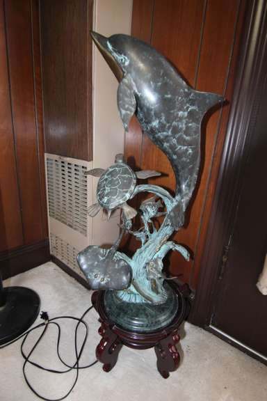 BIDDING CLOSED! 11/23/2020 - Online Auction: Complete Contents of Warren Home - Bronzes, Fine Furnishings, Sterling, Decor, China, Art - Very Clean!