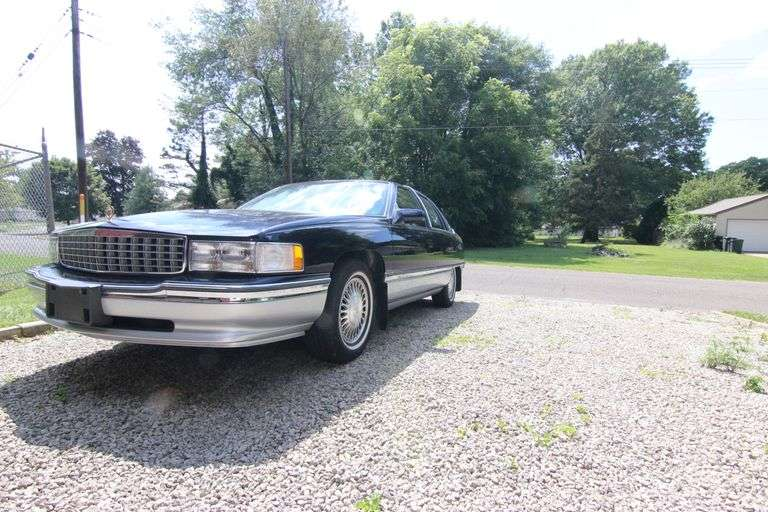 Bidding Closed! 08/18/2021 Online Auction: '94 Cadillac, Tools, Furnishings, Collectibles - Niles, OH