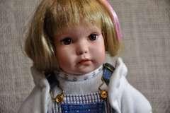 Porcelain Doll by Elke Hutchins