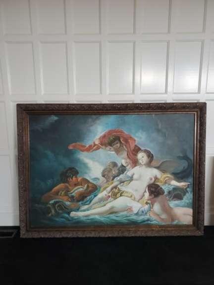 Artwork - Venus De Milo Canvas with Gilt Framing