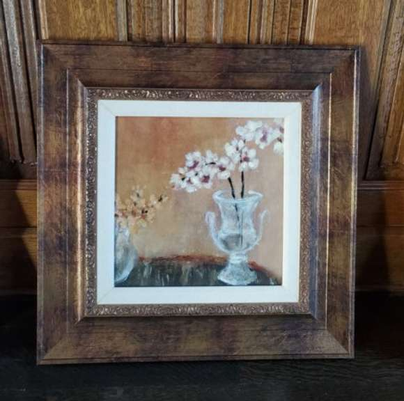 Artwork - Still Life Photography - Flowers I with Guild Frame