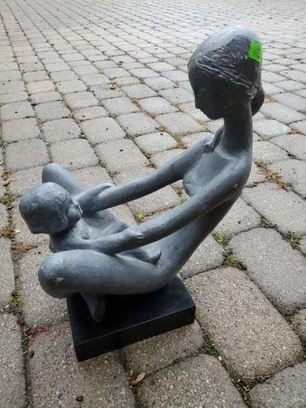 Statue of Mother & Child