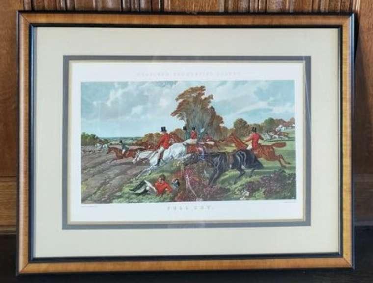 Artwork - Painting of Men On Horses