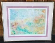 Artwork - Pastel Painting Signed by M.A. Puleia