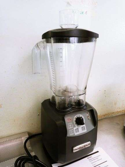 Commercial Hamilton Beach Blender with Manual