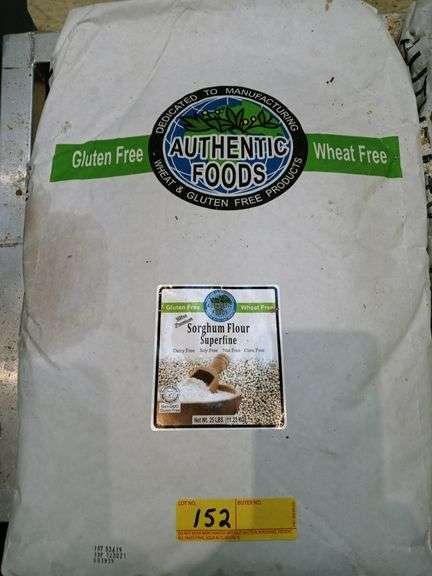 Authentic Foods Sorghum Gluten-Free & Wheat-Free Flour Superfine - 25 lb Bag