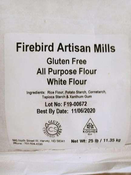 Firebird Artisan Mills Gluten-Free All Purpose Flour - 50 lb Bag