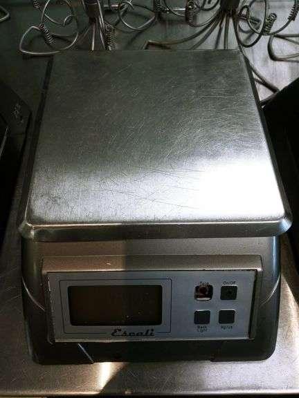 Escal Square Kitchen Scale
