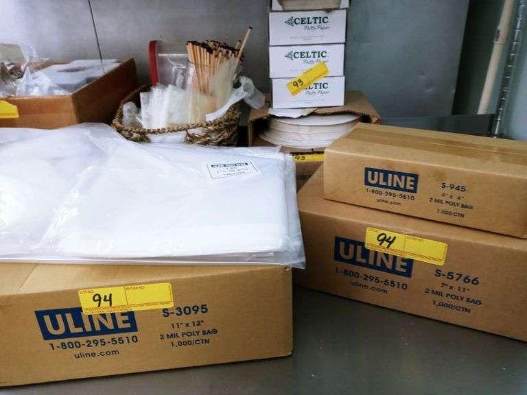 Uline Poly Bags