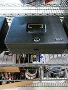 Steel Master Locked Cash Box with Keys