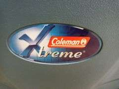 Coleman Xtreme Cooler on Wheels