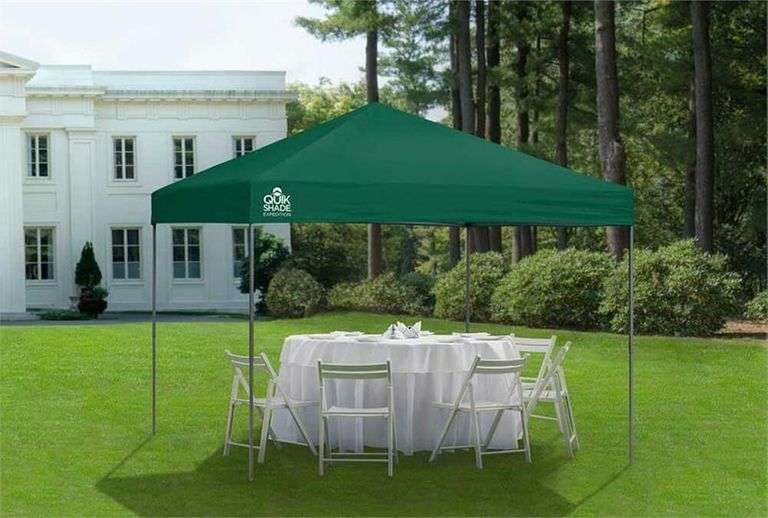 Quik Shade Canopy Tent - 10' x 10'