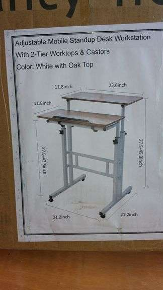 2-TIER STAND UP DESK