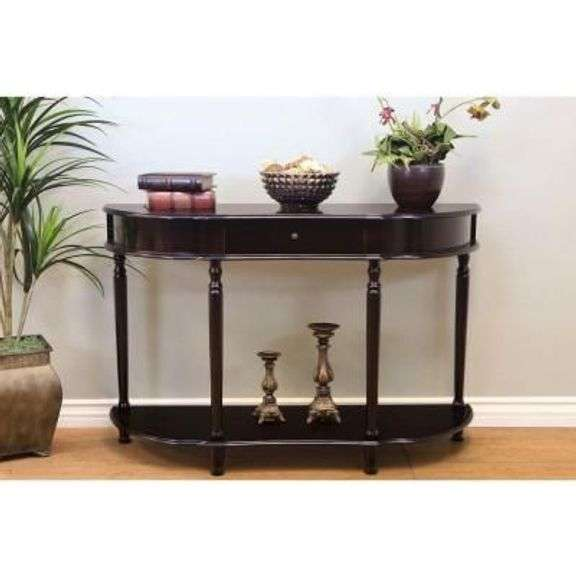 ANTIQUE STYLE HALL CONSOLE TABLE