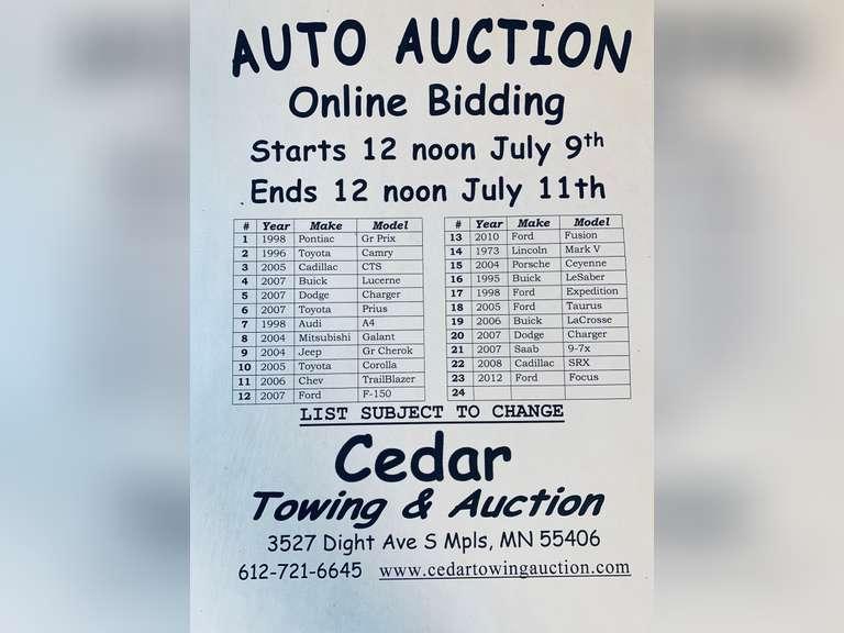 Auction July 11,2020