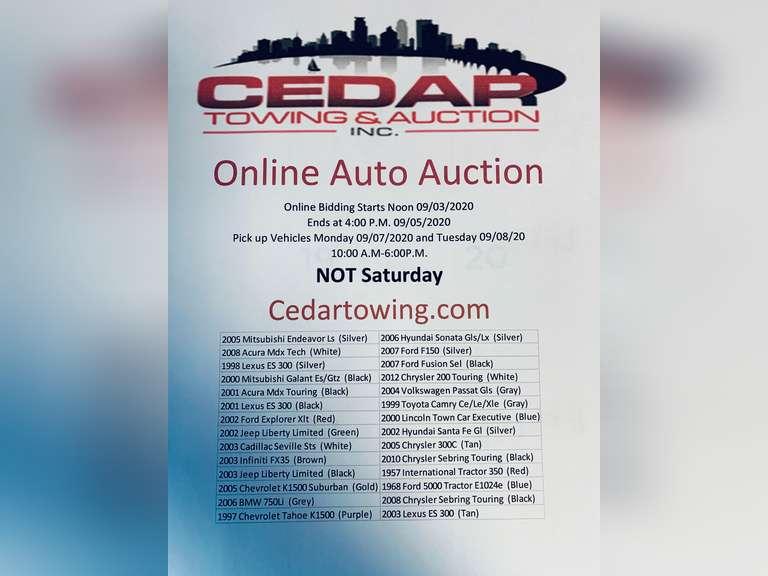 Auction September 5th, 2020
