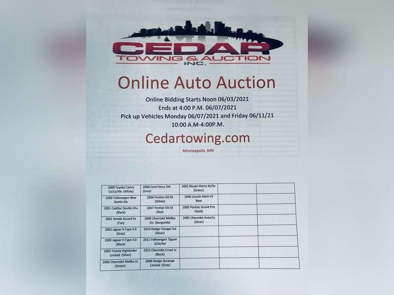 Auction June 5,2021