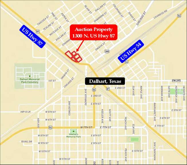Dalhart Commercial / Retail Live Auction