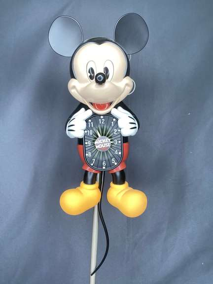 Bradford Exchange limited edition Mickey Mouse Motion clock with moving eyes & tail